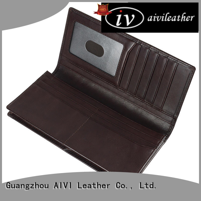 AIVI leather card wallet manufacturer for iphone X