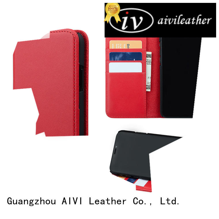 AIVI waterproof leather iphone wallet online for iphone XR