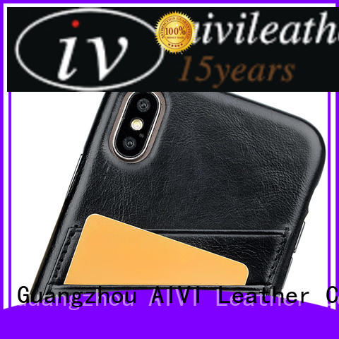 AIVI waterproof quality leather phone cases accessories for iphone X