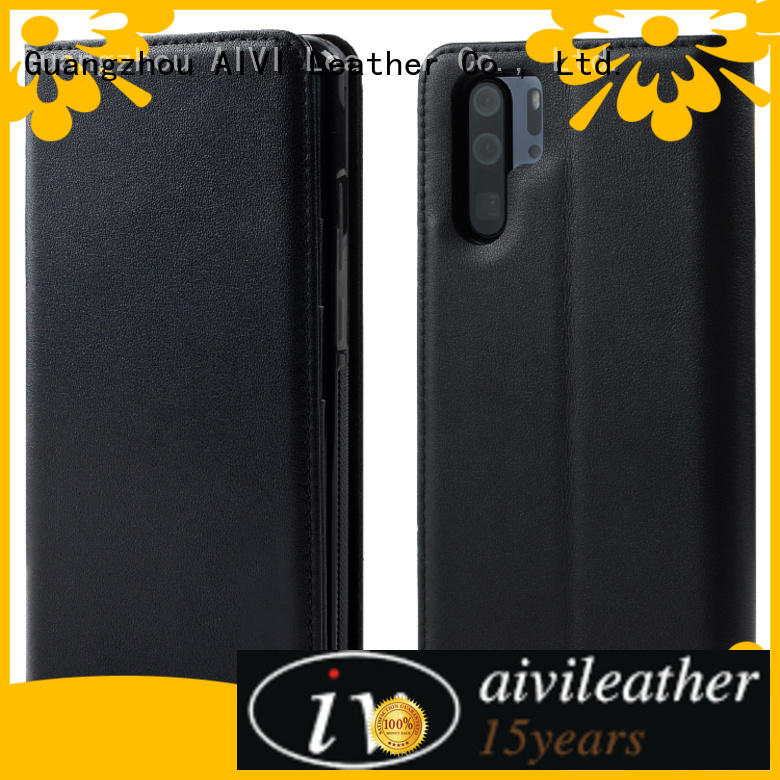 AIVI HUAWEI P30 Leather Case manufacturer for HUAWEI P30