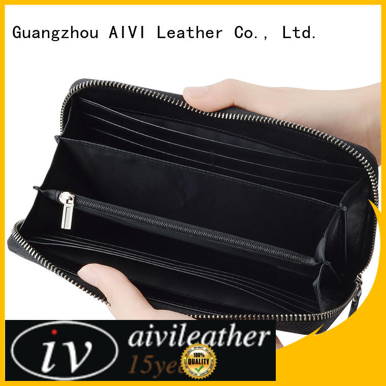 AIVI reliable leather credit card wallet online for iphone X