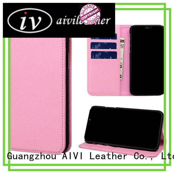 AIVI cell leather iphone wallet for iPhone XS Max for iphone X