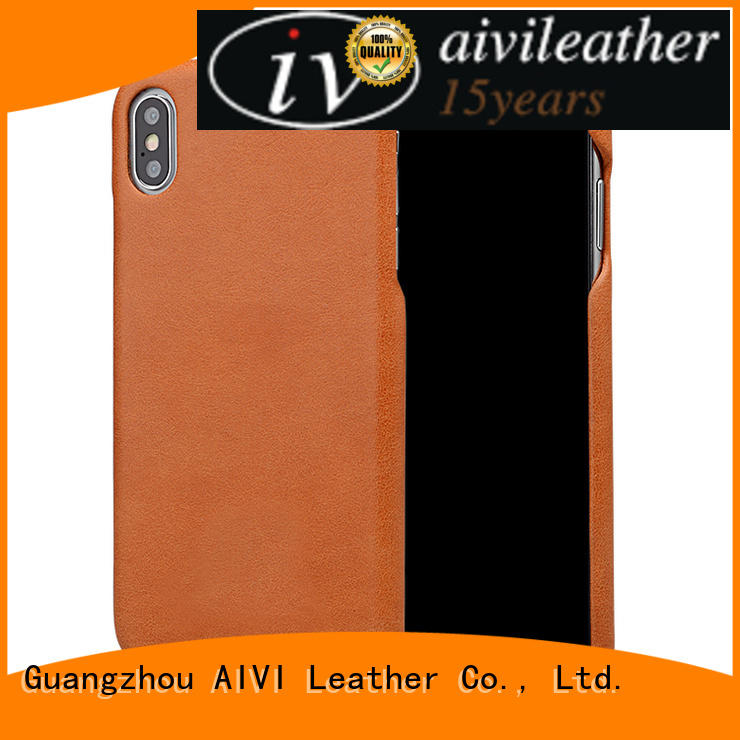 AIVI fashion genuine leather phone case xxsxs for iphone 7/7 plus