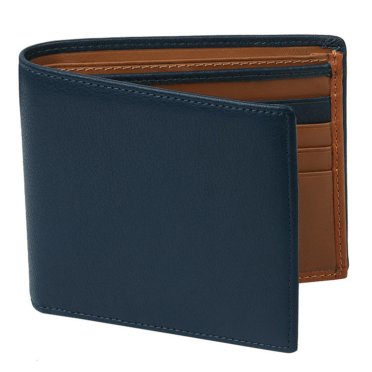 high quality leather card holder wallet mens factory for iphone XS-1