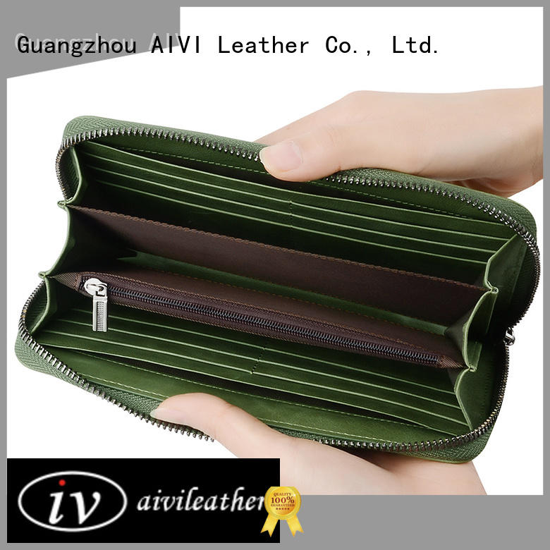 AIVI multifunction leather card case wallet supply for ipone 6/6plus