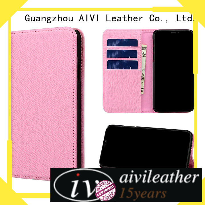 AIVI ultrathin leather wallet phone case for iPhone XS Max for iphone XS