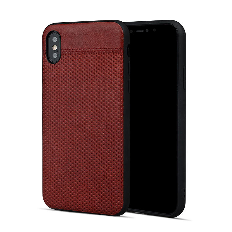 AIVI waterproof slim leather iphone case protector for iphone XR-2