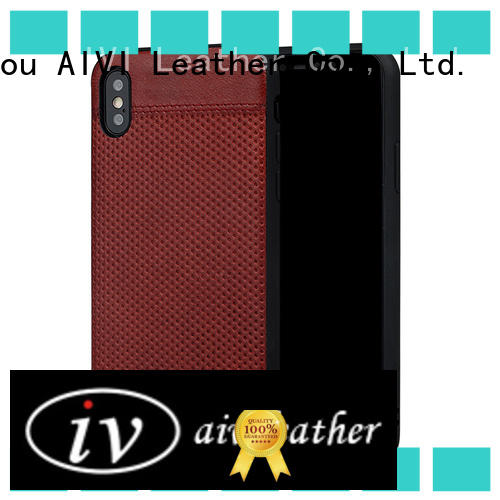 AIVI case custom made leather iphone cases protector for iphone XS