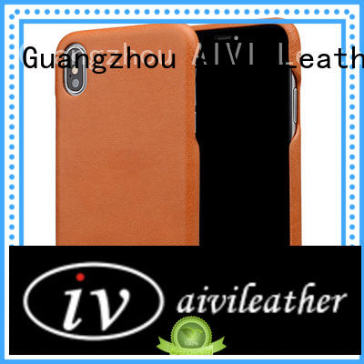 AIVI custom leather iphone case for iphone X