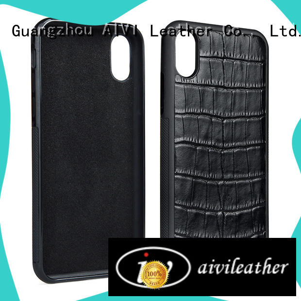 AIVI business iphone x leather case factory for iphone 8 / 8plus