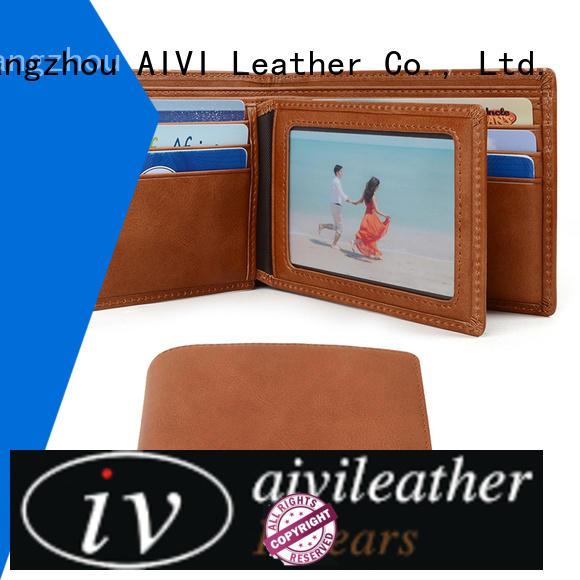 slim custom leather wallets online for travel