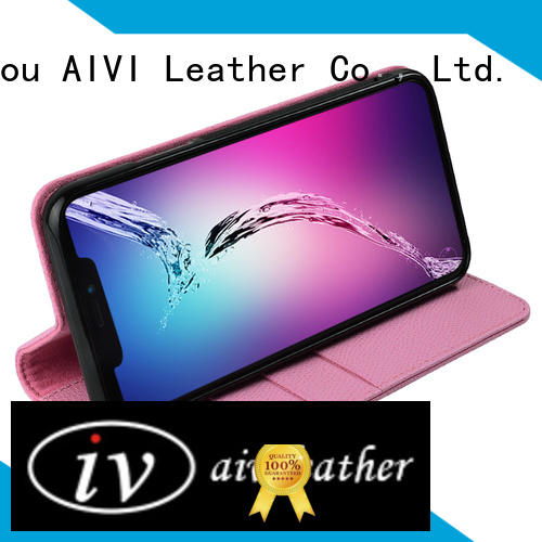 AIVI modern phone pouch wrapper for iPhone