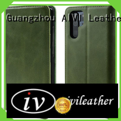 AIVI handcraft leather phone cases for sale for Huwei