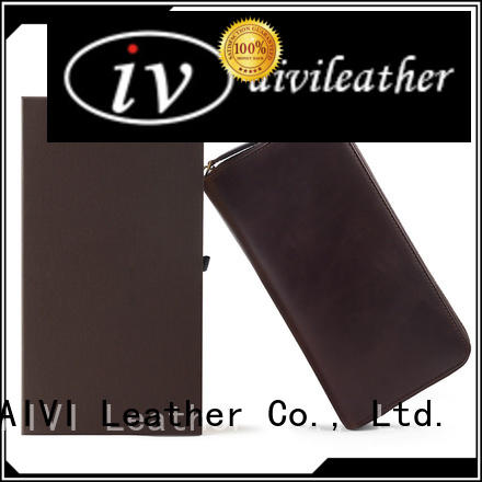 AIVI leather card holder wallet supply for iphone 8 / 8plus