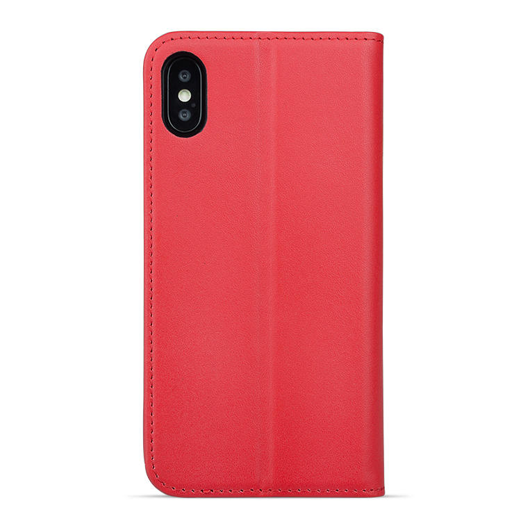 AIVI real leather iphone wallet case protector for iphone XR-3