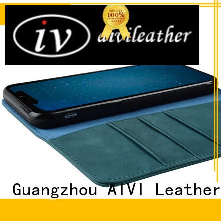 AIVI fashion leather cell phone case wholesale for phone