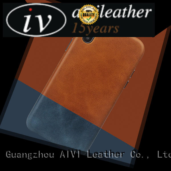quality leather phone cases AIVI
