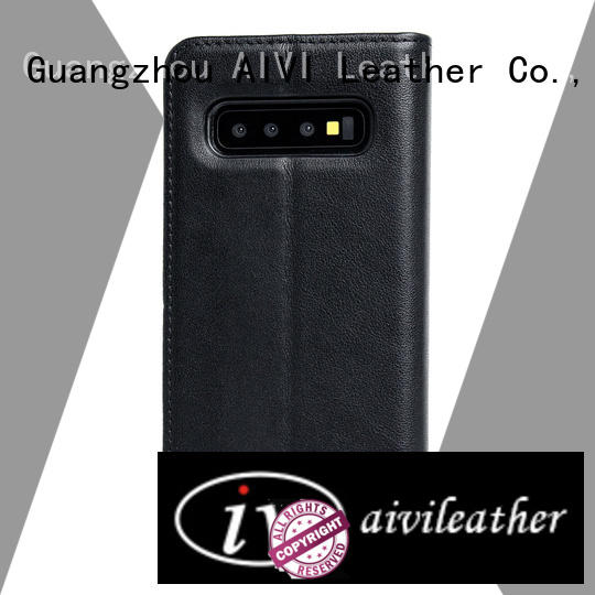 Luxury Genuine Leather Protective Case For Samsung S10