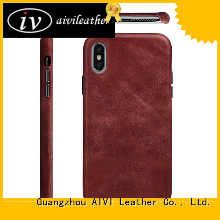 xxsxs apple leather phone case durable for ipone 6/6plus AIVI