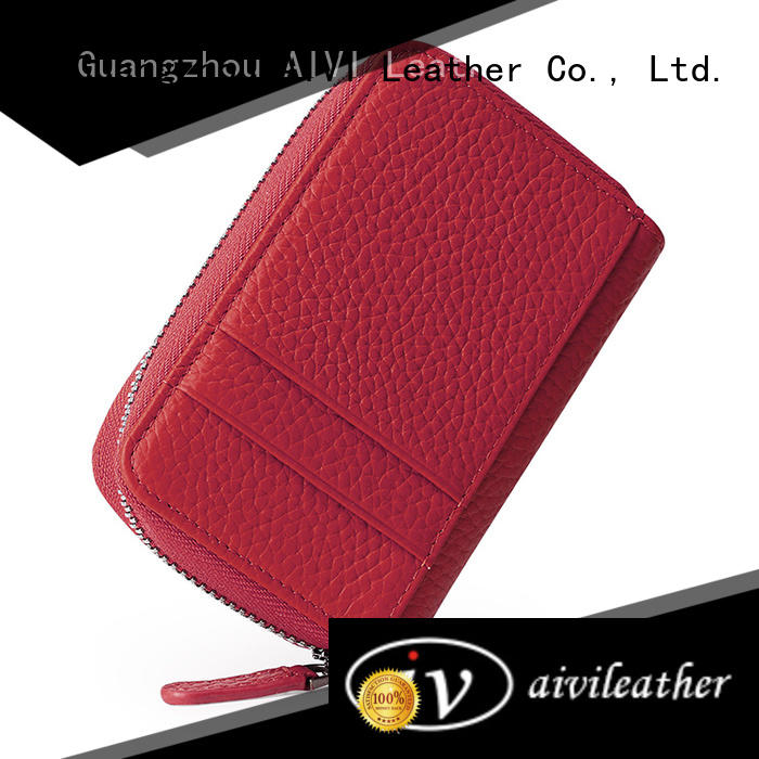 AIVI multifunction leather card case wallet manufacturer for iphone 8 / 8plus