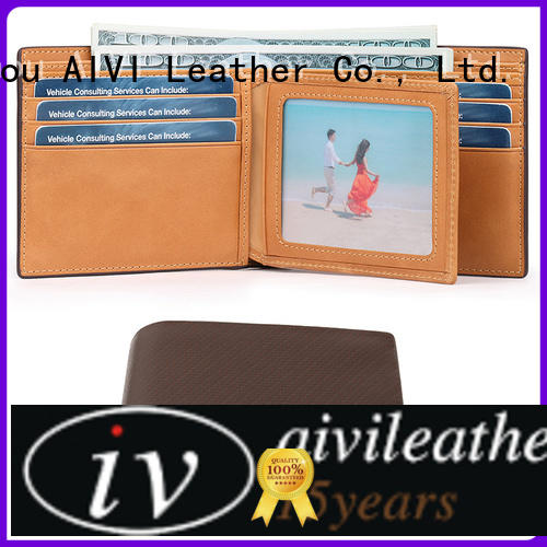 unisex leather card holder wallet factory for iphone X