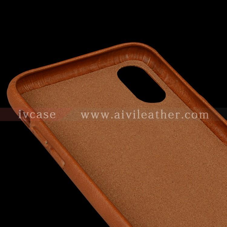 AIVI reliable apple genuine leather case accessories for iphone X-3
