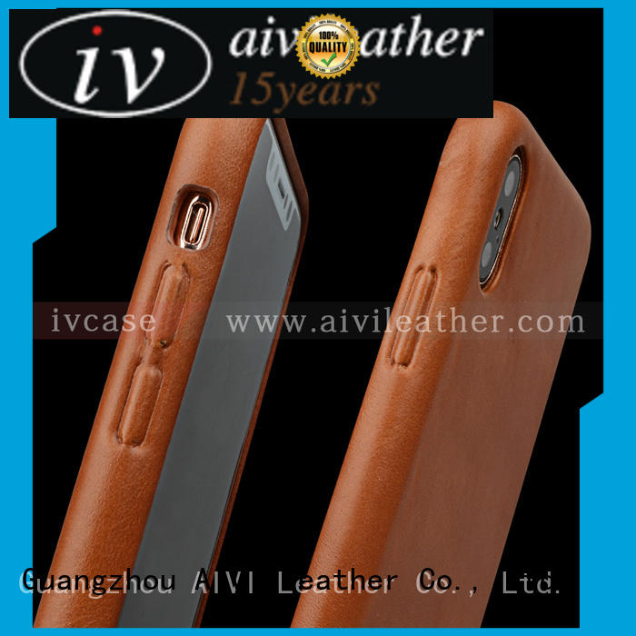 personalized apple leather case protection manufacturer for iphone XR AIVI