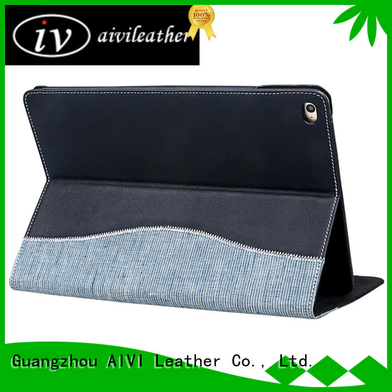 AIVI customized ipad leather case factory for MAC BOOK
