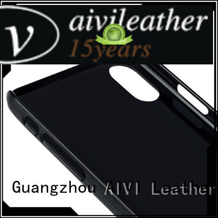 AIVI beautiful quality leather iphone case online for iphone XS