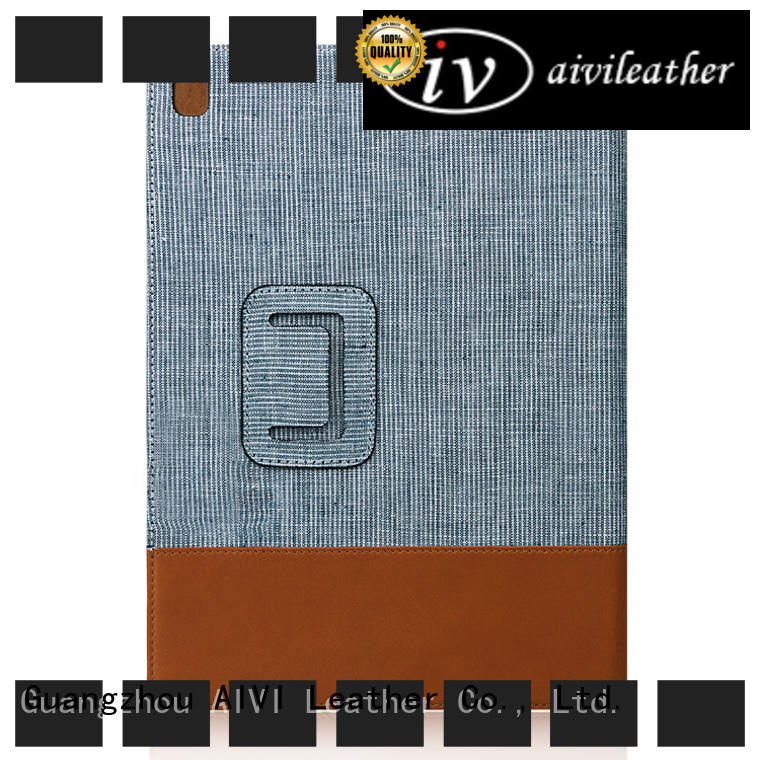 AIVI cases luxury leather ipad case manufacturer for IPad