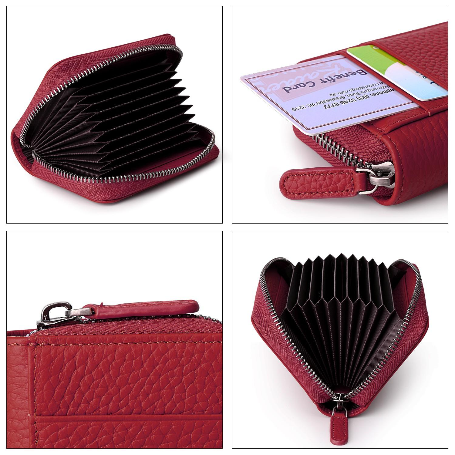 AIVI multifunction leather card case wallet manufacturer for iphone 8 / 8plus-3