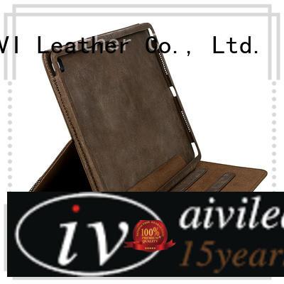 AIVI convenient leather phone cases genuine for iPhone