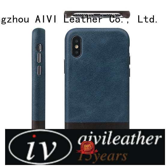 durable quality leather iphone case real for iPhone X/XS for iphone XS