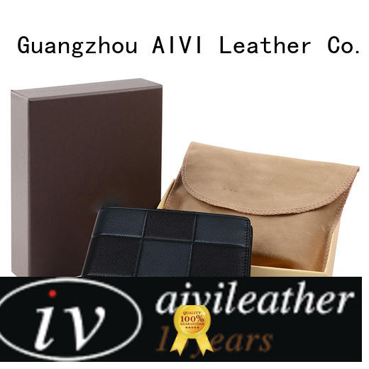 AIVI leather credit card case manufacturer for iphone 7/7 plus