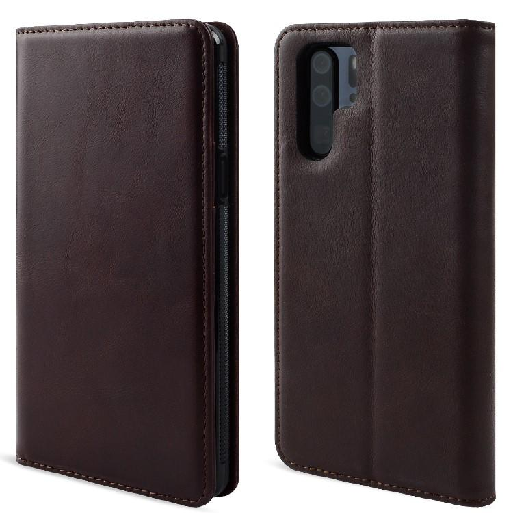 Custom Leather phone Case Pure handmade for HUAWEI P30-1