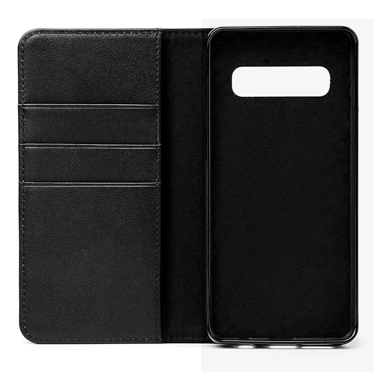 Luxury Genuine Leather Protective Case For Samsung S10-3