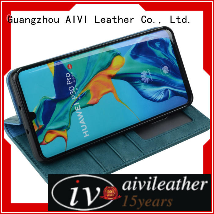 AIVI durable HUAWEI P30 Leather Case factory for Huwei