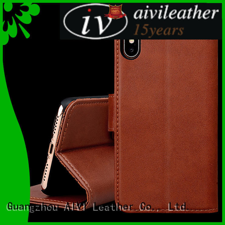 best leather iphone case and wallet fully manufacturer for iphone XR