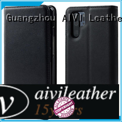 AIVI new arrive leather phone cases online for HUAWEI P30