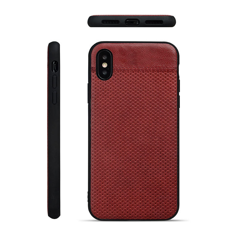 AIVI waterproof slim leather iphone case protector for iphone XR-1
