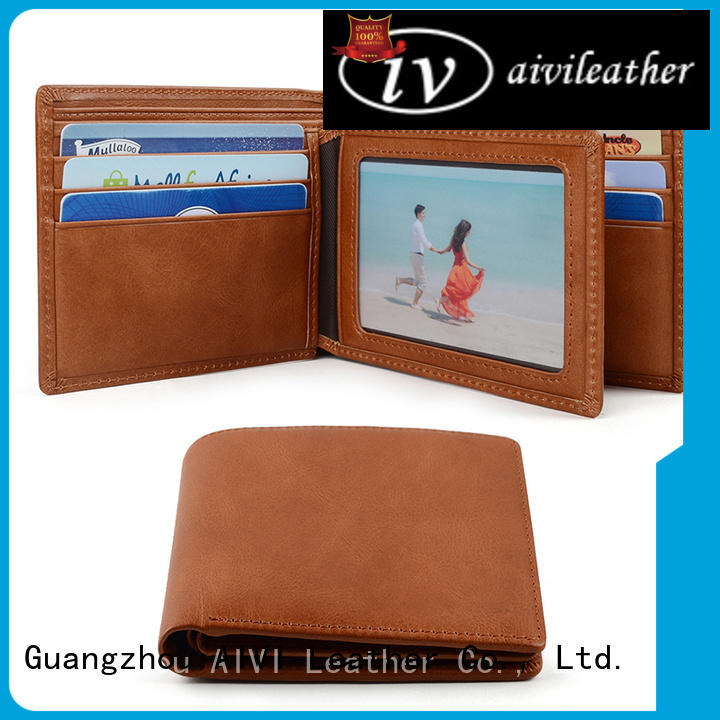 AIVI mens travel wallet easy to carry for travel
