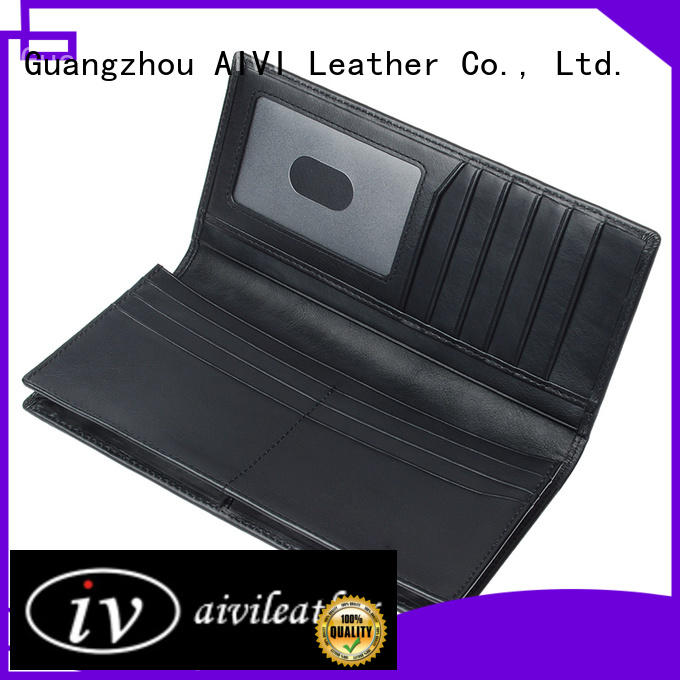 AIVI fashion mens travel wallet easy to carry for travel