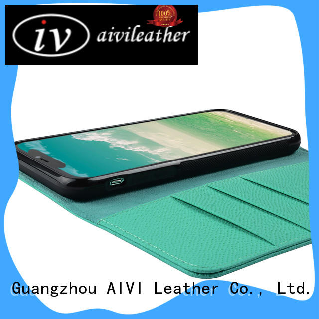 AIVI multifunction leather card holder wallet for sale for iphone X