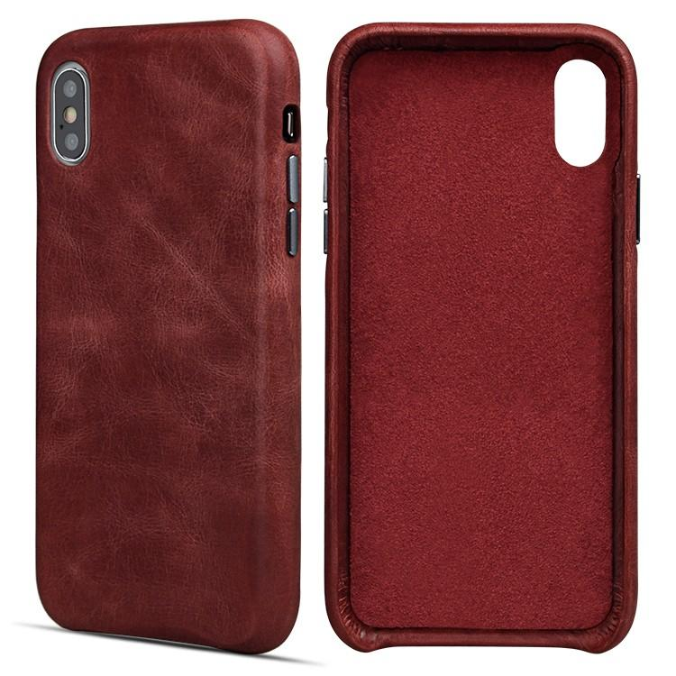 AIVI customized genuine leather iphone case accessories for iphone XS-2