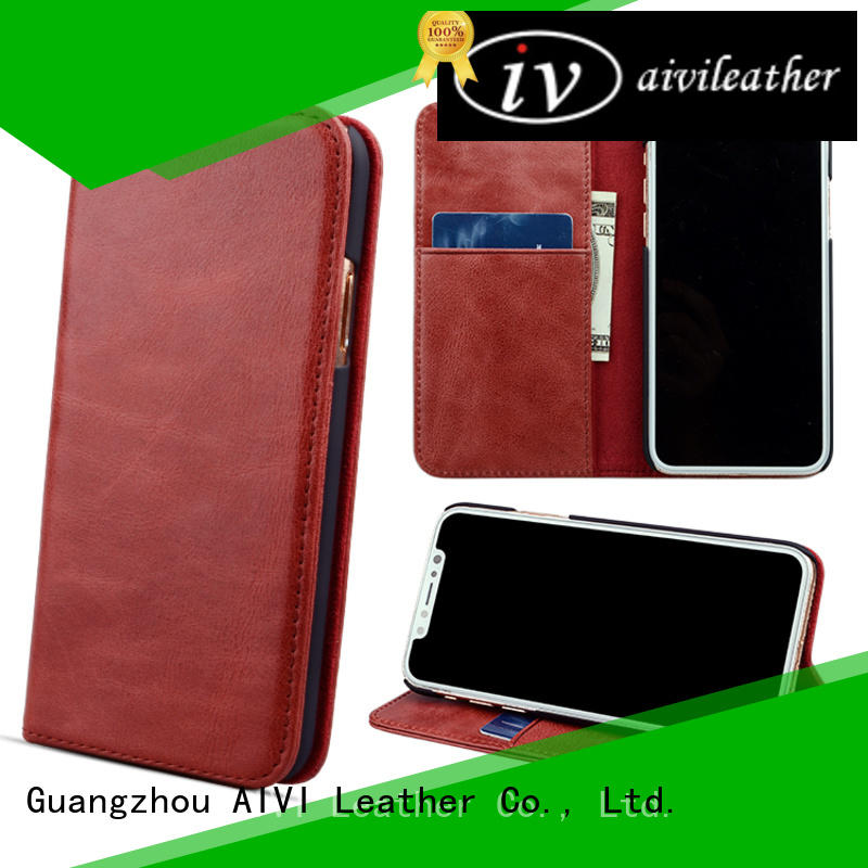 AIVI handmade best leather phone cases for sale for iphone 7/7 plus