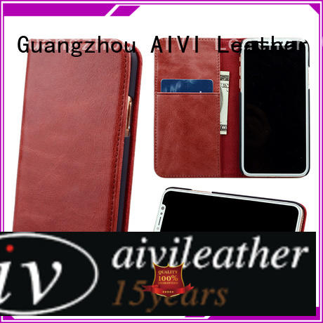 AIVI convenient iphone xr leather case for iphone X