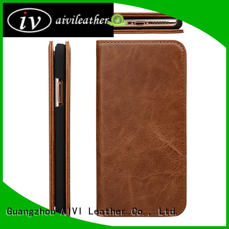 fashion best leather iphone wallet holder for iPhone X/XS for iphone XS
