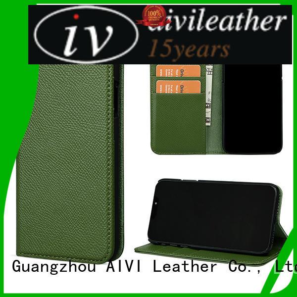 convenient luxury leather phone cases detachable accessories for iphone 7/7 plus