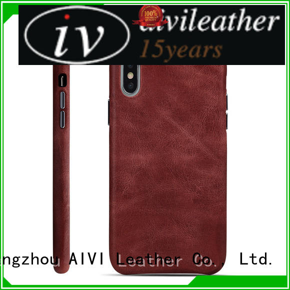 AIVI card leather wallet phone case protector for iphone 7/7 plus
