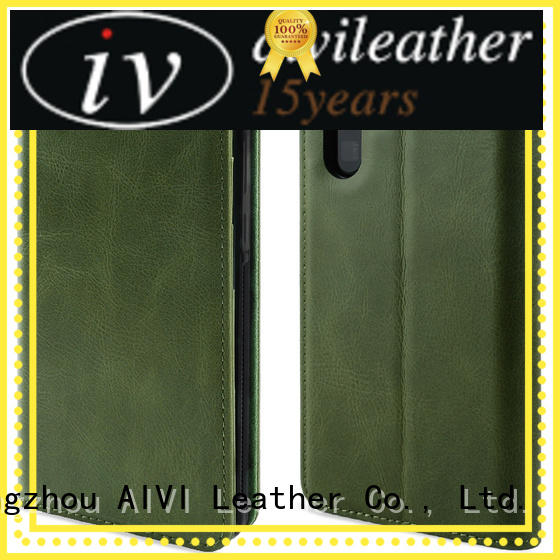 AIVI leather phone cases factory for Huwei